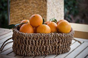 Naranjas amarillas