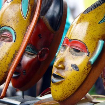 Mascara africana oshun