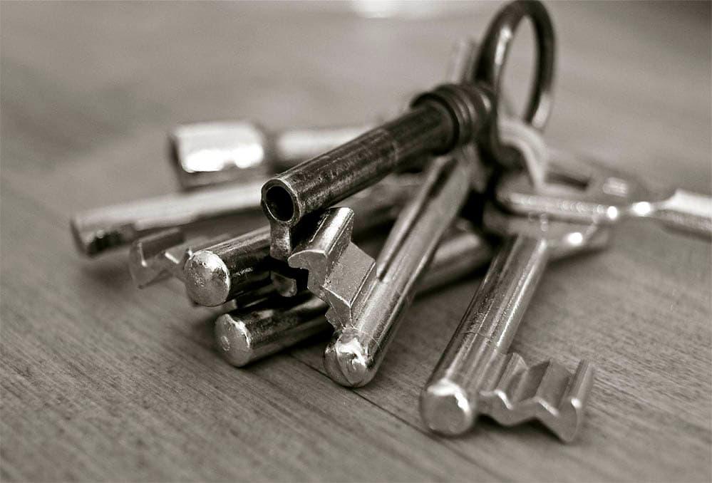 llave hembra y macho